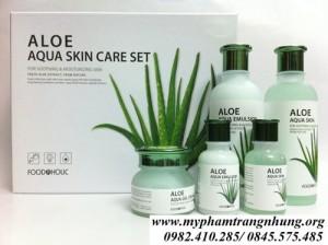Bộ dưỡng da Lô Hội Aloe Aqua Skin Care Set