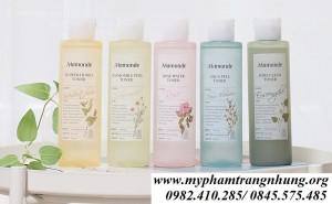 Nước hoa hồng Mamonde toner 250ml