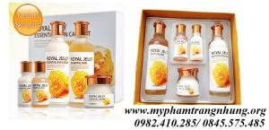 Bộ dưỡng trắng da Sữa Ong Chúa Royal Delly Essential Skin Care Set