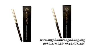 Chì Kẻ Mắt Vàng Karadium Waterproof Eyeliner Pencil Black mẫu mới