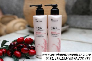 Tẩy trang gạo vòi Rice Water Bright Cleansing Milk – The Face Shop
