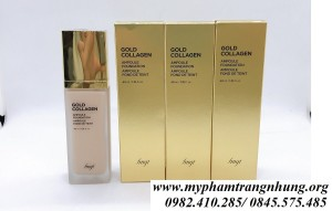 KEM NỀN THE FACE SHOP GOLD COLLAGEN AMPOULE FOUNDATION SPF 30