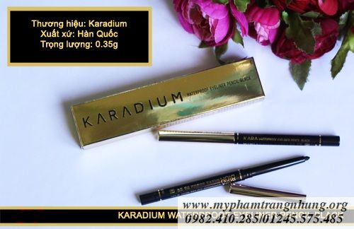 KARADIUM WATERPROOF EYELINER PENCIL BLACK 500_result
