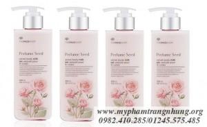 Dưỡng Thể Nước Hoa Perfume Seed Velvet Body Milk TheFaceShop