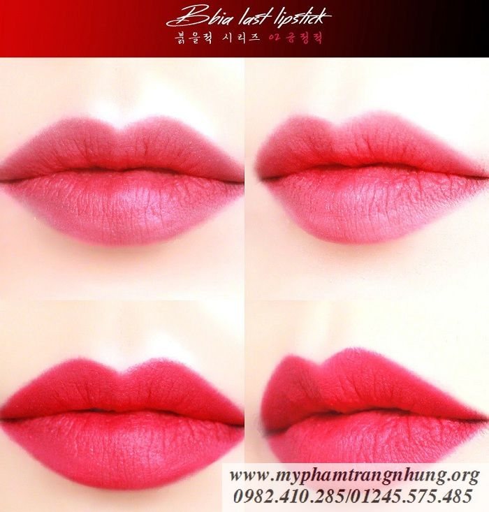 Son Bbia Last Lipstick Red Series (8)_result