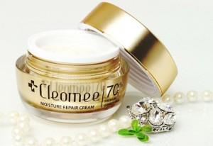 Kem Dưỡng Trắng Tái Tạo Da Chiết Xuất Sữa Lừa Cleomee Moisture Repair Cream