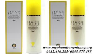 Tẩy da chết Geo Lemon Juice Rhythmical Peeling Gel