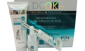 Kem đặc trị mụn DCOK (3in1)
