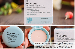 PHẤN NÉN KIỀM DẦU OIL CLEAR SMOOTH & BRIGHT PACT SPF/FPS 30PA++