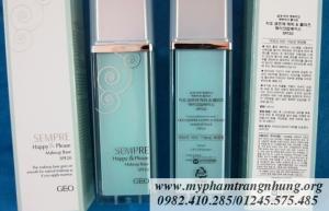 Kem lót trang điểm Geo Sempre Happy & Please Makeup Base SPF20 40ml