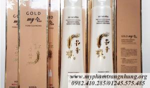 Sữa rửa mặt sâm vàng Korea Gold Ginseng Foam Cleansing My Gold