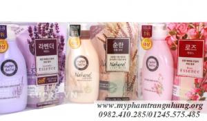 Bộ sữa tắm Happy Bath Hàn Quốc  (500g + Bịch)