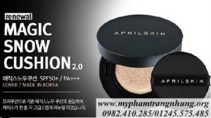 Phấn April Skin – Phấn nước che mụn 'ma thuật' siêu hot
