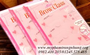 Khuôn kẻ lông mày Etude House Mini Brow Class Drawing Guide