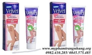 Kem tẩy lông Velvet chiết xuất hoa cúc và vitamin E