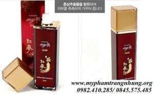 Nước Hoa Hồng Nhân Sâm Đỏ My Gold