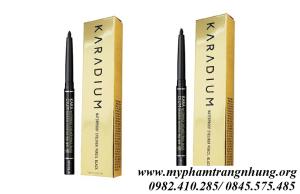 Chì Kẻ Mắt Chống Thấm Nước Karadium Waterproof Eyeliner Pencil Black
