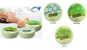 Kem Massage Herb Day Massage Cream The Face Shop (Dưa chuột- Bach Quả- Cần Tây)