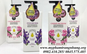 Dưỡng thể On The Body CASHMERE PERFUME