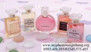 Bộ nước hoa mini Chanel (5 chai)