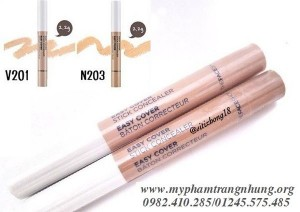 Che khuyết điểm 1 đầu Easy Cover Stick Concealer THEFACESHOP