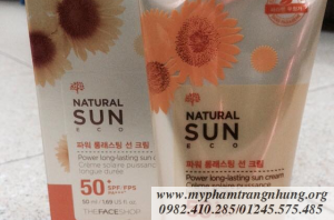 Kem chống nắng Natural Sun Eco SPF50+ PA+++