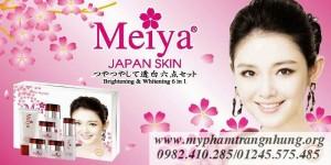 Bộ mỹ phẩm trị nám cao cấp Nhật Bản Meiya 6in1 (New)
