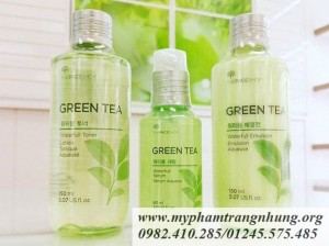 Nước Hoa Hồng Trà Xanh The Face Shop Waterfull Green Tea Toner 150ml