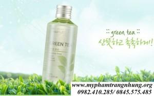 Nước Hoa Hồng Trà Xanh The Face Shop Waterfull Green Tea Toner