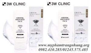 Dưỡng thể kích trắng 3w clinic crystal white milky pack