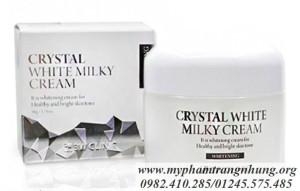 KEM DƯỠNG MẶT 3W CLINIC CRYSTAL WHITE MILKY PACK