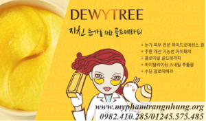 Mặt nạ mắt DewyTree Prime Gold Snail Eye Patch – Hàn quốc