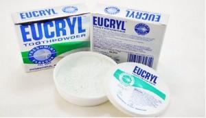 Bột làm trắng răng Eucryl