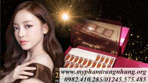 Tinh Chất Dưỡng Tái Tạo Da Ngừa Lão Hóa Chiết Xuất Từ Vàng 24K Biocos 24k Gold Perfect Collagen Ampoule