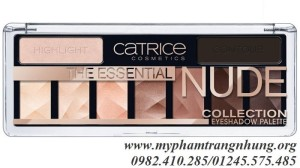 Bảng phấn mắt Catrice The Essential Nude Collection Eyeshadow Palette 10g