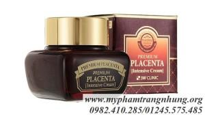Kem Dưỡng Trắng Da Nhau Thai Cừu Premium Placenta Intensive Cream 3W Clinic