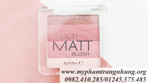 Phấn Má Hồng CATRICE Multi Matt Blush