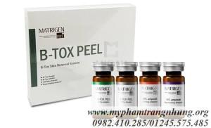 Matrigen B-Tox Peel – Thay da sinh học cho vẻ đẹp tự nhiên