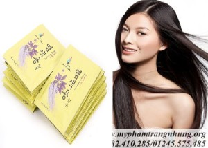 Dầu Gội Thảo Dược Đen Tóc  dây Beauty Star Hàn Quốc (10 Gói x 30ml)