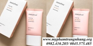 Kem chống nắng da dầu INNISFREE daily UV protection cream SPF35- no sebum