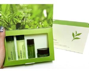 Bộ Dưỡng Da Dùng Thử Innisfree Trà Xanh Green Tea Special Kit Set (4 Sản Phẩm)