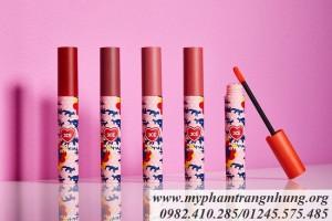 Son kem lì 3CE Maison Kitsune Velvet Lip Tint Mới nhất 2018