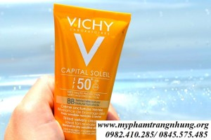 KEM CHỐNG NẮNG VICHY CAPITAL IDEAL SOLEIL SPF 50
