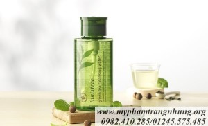 NƯỚC TẨY TRANG INNISFREE GREEN TEA CLEANSING WATER 300ML