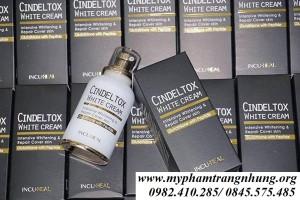 Kem dưỡng trắng da Cindel Tox White Cream Hàn Quốc