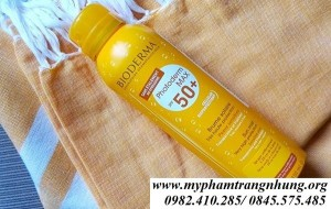 Xịt Chống Nắng Bioderma Photoderm Max Brume Solaire SPF 50+