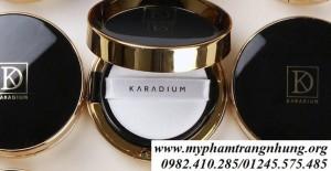 Phấn nước karadium fitting cover mesh cushion spf50 – bản đen