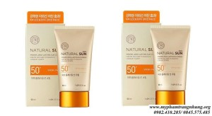 Kem chống nắng Natural Sun Eco Power Long Lasting Sun Cream SPF50+ PA+++