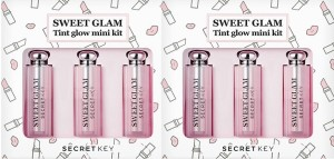 Set son Secret Key Sweet Glam Tint Glow Mini Kit