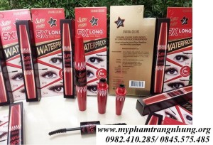 Mascara 2 đầu nối mi sivanna super model 5x